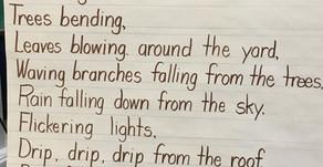 Class Rain Poem