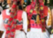 전통 민속 원피스