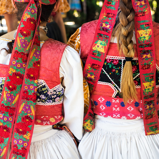 Traditional Folk Dresses