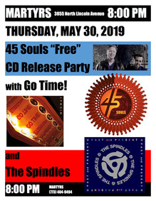 MARTYRS 45 SOULS GO TIME! THE  SPINDLES