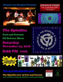 Spindles at Danny's Pizza Flyer 11  24 2