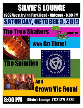 Silvie's Lounge Tree Shakers, Go Time!,