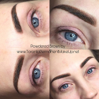Powder Brows are HOT right now!
