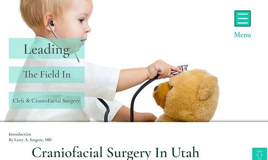 Cleft and Craniofacial Center Utah Dr Brian T Bennett