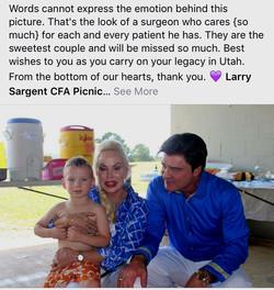 Larry A Sargent MD Patient Reviews