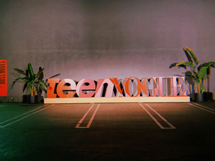 Worked a couple days an Audio and Production Assistant for Teen Vougue Magazine in Hollywood,CA