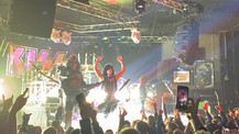 Working with KISS during their Live Peformance at The Whisky A Go Go for Sirus XM Radio