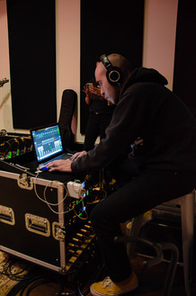 Austin running sound for a Live Session!