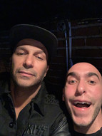 Hanging with Tom Morello at The KISS Show at The Whisky A Go Go