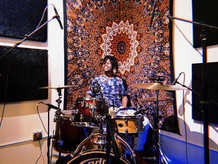 Good frienf Jamar Young laying down some Drum Trakcs for Producer Oboi Jones