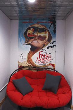 Our cool and comfy corner to hang and chill in while you're recording with us