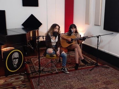 The Super talented Krista Marina and Kira Lise peofrming Live for a Jung Records Live Session