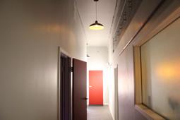 The Hallway leading into our beautfiul studo