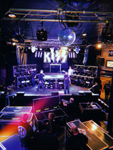 Setting up for KISS at The Whisky A Go Go
