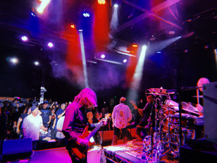 Stage and Crowd shot of Jack Russell and Band in Santa Clarita, CA