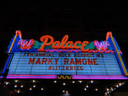 Doing backline work for Rock Against MS, and had the honor of working with Marky Ramone and Band