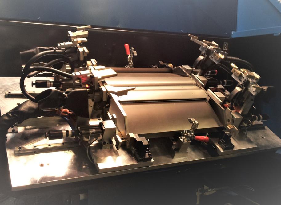 Robotic MIG Weld Tooling