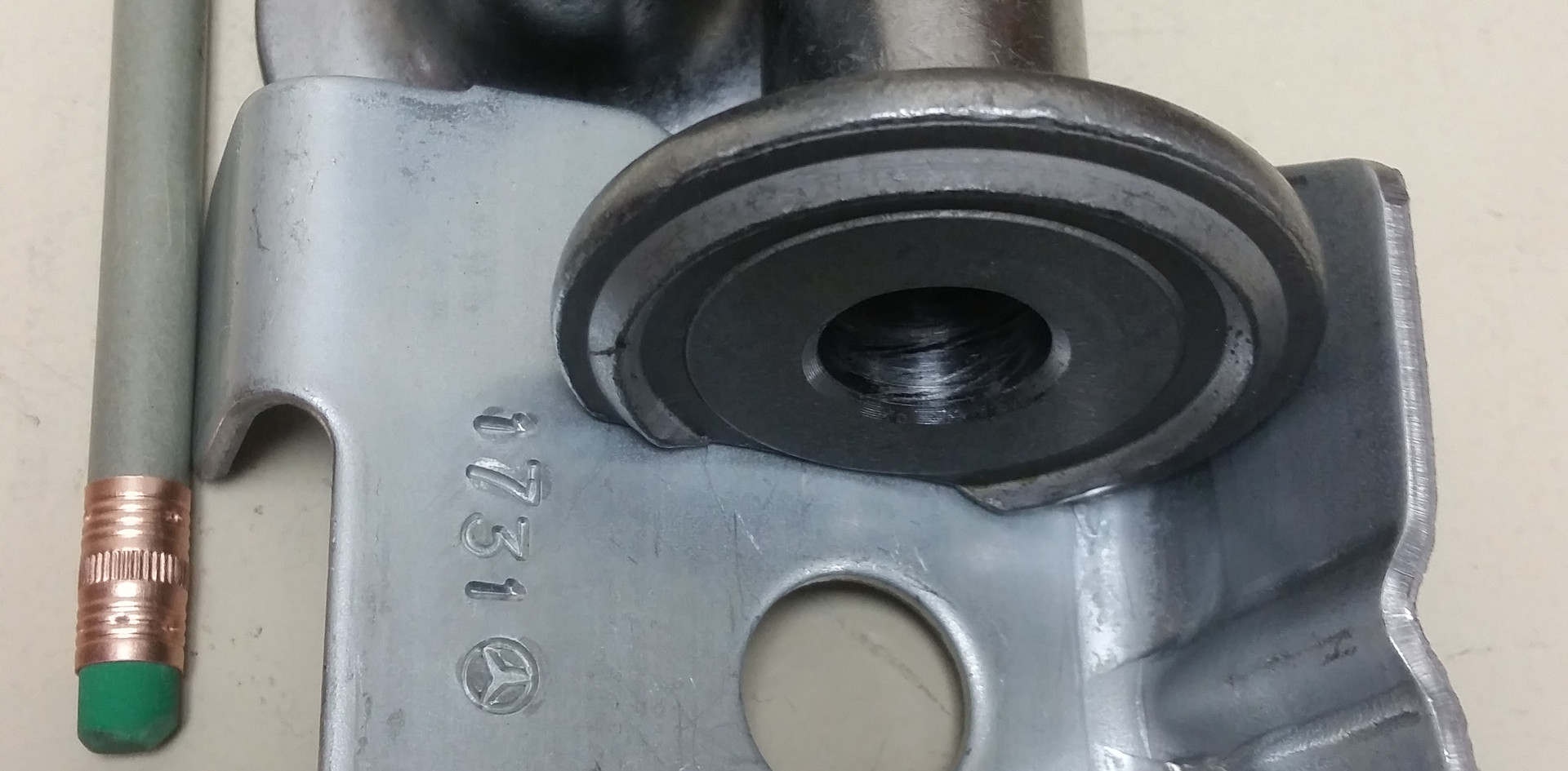 Large Projection Weld