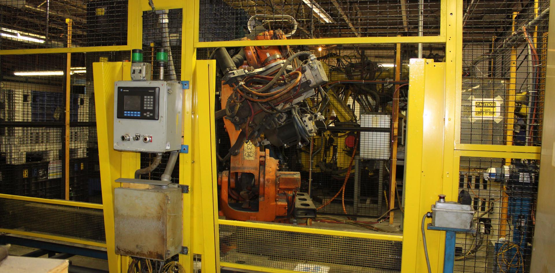 6-Axis Robotic Resistance Welding