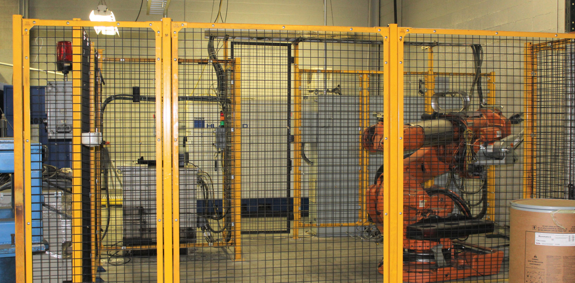 Heavy Payload Material Handling Robot