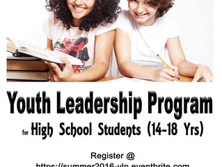 How To Plan 'Youth Leadership Program (YLP)'?