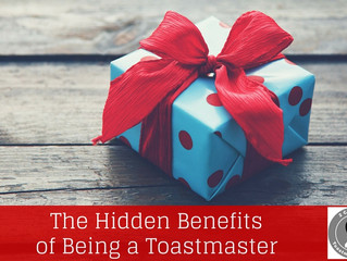 Hidden Benefits of Being a Toastmaster