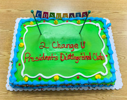 President's Distinguished Club celeb