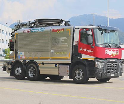 Righeti Service SA camion aspirazioni