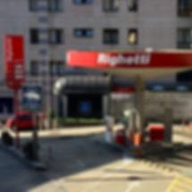Righetti Combustibili SA disributore lugano fungo. Rigoil benzinaio ticino gasolio