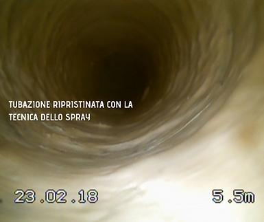 Righetti Service SA tubo rsanato a spray