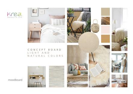 "Arredamento stile ""natural colors"""