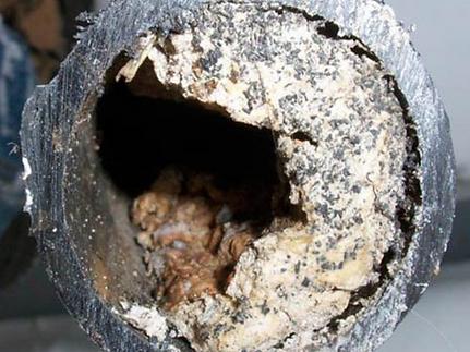 Righetti Service SA tubo otturato da grasso