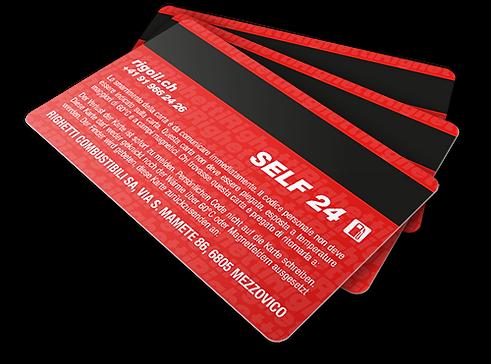 Righetti Combustibili SA Righeti card