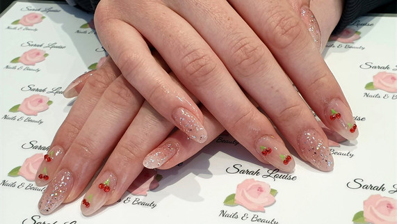 Acrylic Extensions with Gel Overlay