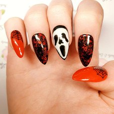 Loved doing these Halloween nails ❤🎃