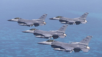 F-16C Fighting Falcons,          482nd Fighter Wing