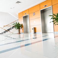 Reception area/lobby cleanin
