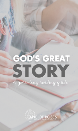 God's Great Story Reading Plan