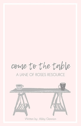 Come to the Table: Does Your Table Look Like Jesus'?