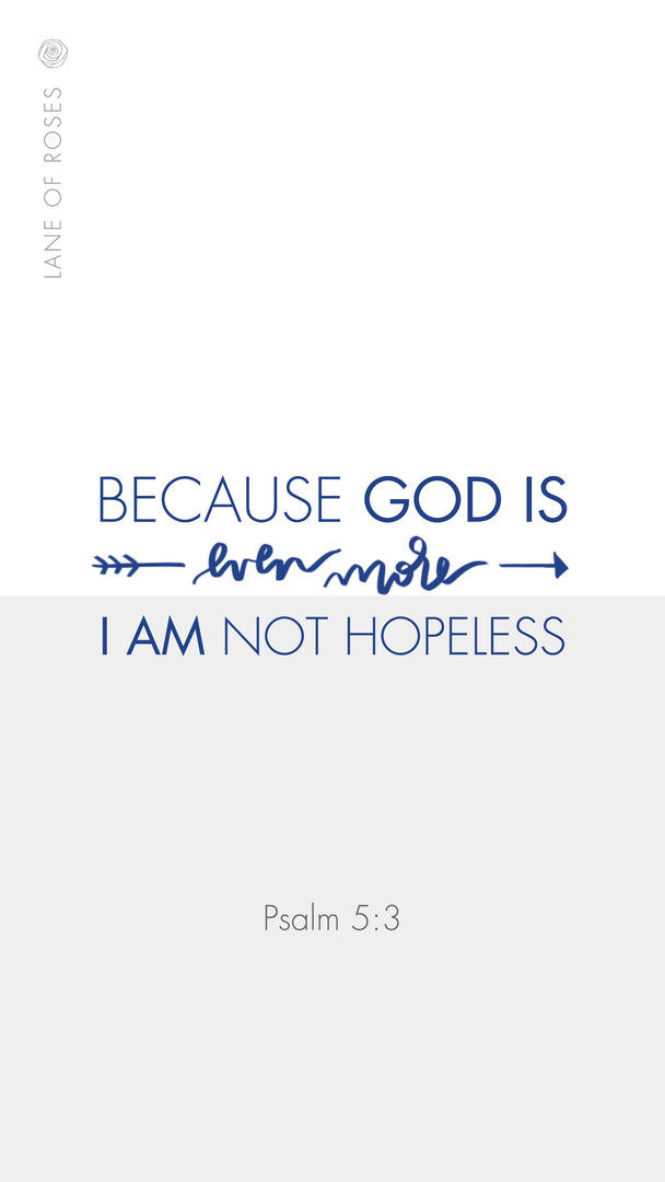 i am not hopeless