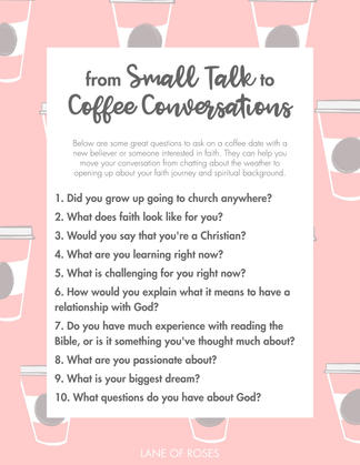 From Small Talk to Coffee Conversations