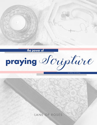 The Power of Praying Scripture