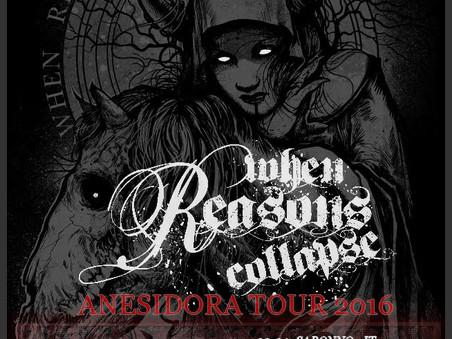 ANESIDORA TOUR 2016