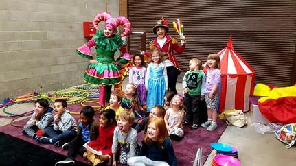 Circus birthday party