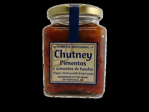 Chutney de Pimentos e Sementes de Funcho