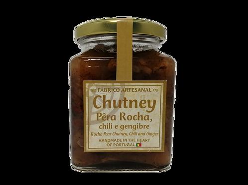 Chutney de Pêra Rocha, Chili e Gengibre