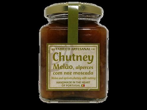 Chutney de Melão e Alperces com noz moscada