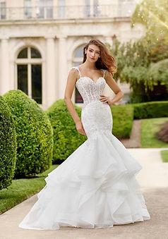 Fit n'Flare Marti Thrnburg wedding dress