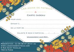 Les soins de Patricia massage paris 12