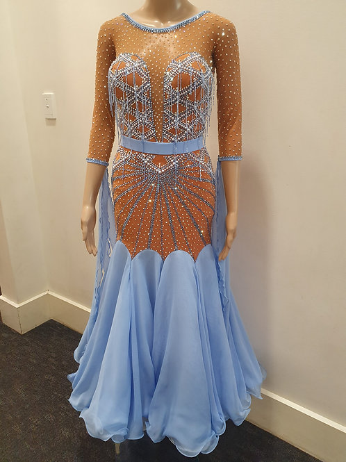 Brand New June Designs Ballroom Dress